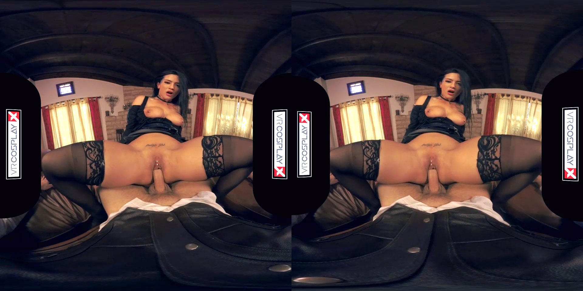 Vrcosplayx yen and triss enjoy lesbian session witcher xxx