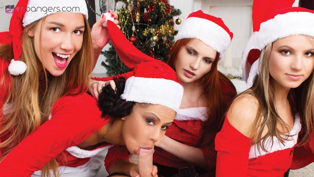 Santa christmas naughty girl merry