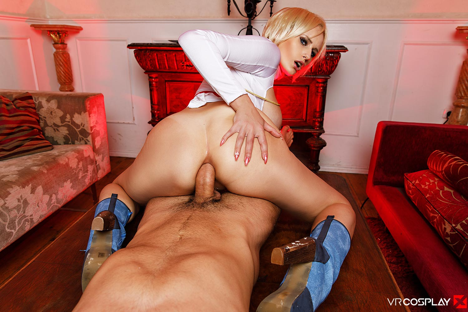 Angel Wicky In Powergirl Assembly A Xxx Parody - Vr 4 Porn-8451